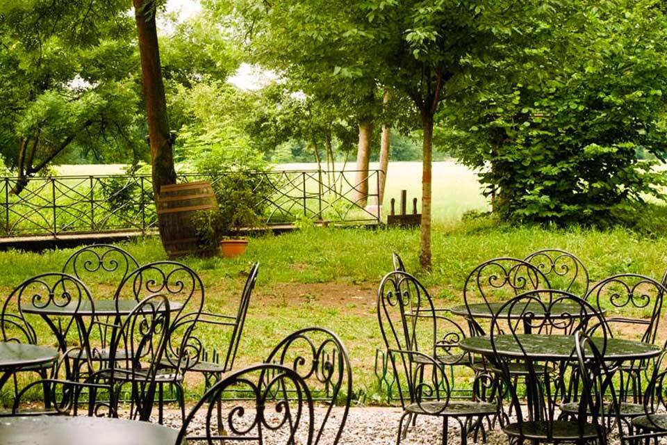 Giardino al parco di Monza